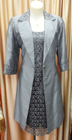 Dress and Jacket set 04 | Isabella Fashions | Mother of the bride dresses, plus sizes, and evening wear