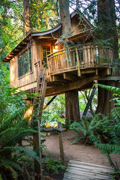 Treehouse Points' structures encourage you to turn off your electronics to relax and reconnect, with yoga and massages, or space to read, write and even paint.