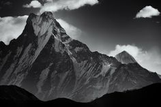 Machhapuchhre up close by Tristan Brittaine on 500px