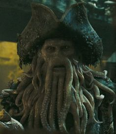 """D.Jones (Bill Nighy)  """"Pirates of the Caribbean: Dead Man's Chest"""" &""""At World's End"""""""