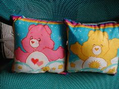 2 Cute Adorable Care Bear Pillows Brand New by phmillr on Etsy, $6.00