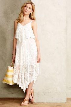 Zimmermann Veiled Silk Dress