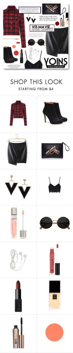 """""""Good For You"""" by tasnime-ben ❤ liked on Polyvore featuring Victoria Beckham, Lancôme, Anastasia Beverly Hills, NARS Cosmetics, Chanel, Benefit, yoins and yoinscollection"""