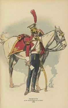 Tromba del 1 rgt. lancieri polacchi della guardia imperiale francese