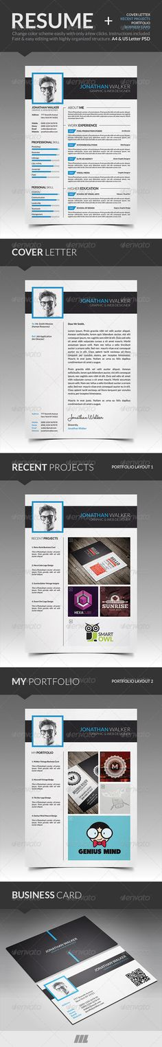 CV\/Resume and Business Card Template Card templates, Business - resume business cards