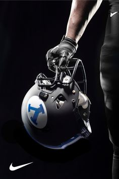 BYU - Matte Black, White, Blue