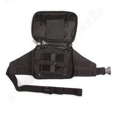 MIL-TEC Hip Bag schwarz für Pistolen - 22x15 cm