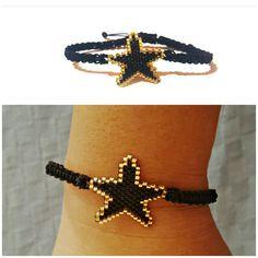 Star bracelet.. miyuki delica beads