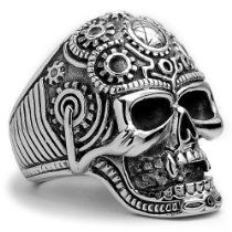 The Ultimate Stainless Steel Casted Skull Biker Ring Sizes 9 to 14 https://www.facebook.com/115224581996767/photos/a.115237391995486.1073741828.115224581996767/406105566241999/?type=1&theater