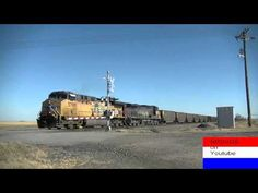 BNSF & Union Pacific's Action from Hastings to Wood River,NE on November...