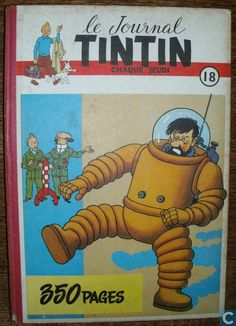 Bandes dessinées - Tintin - Le journal Tintin 18