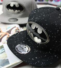 2014 New Fashion Batman Lovers Adjustable Snapback Hip-hop Baseball Cap Unisex #New #BaseballCap