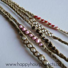 Wish Bracelets - Happy Hour Projects