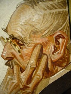 A nice piece by J.C. Leyendecker. I admire the angular, staccato brushwork in his paintings.