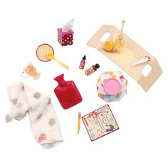 Sick at Home Doll Accessories - Our Generation