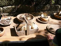 "Resources for the mud pie kitchen at National Trust, East Riddlesden Hall - shared by Adventures @ Play ("",)"