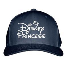 Ex Disney Princess Embroidered Baseball Cap
