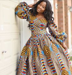 African Fashion Is Hot African American Fashion, African Inspired Fashion, African Print Fashion, Africa Fashion, Fashion Prints, African Print Dresses, African Fashion Dresses, African Dress, African Prints