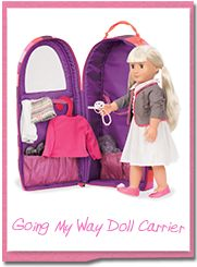 Come on an adventure with your Our Generation 18 inch doll. Read all our stories, collect, and explore the world of Our generation. Doll Carrier, Our Generation Dolls, Picnic Set, 18 Inch Doll, Kayaking, Backpacks, Adventure, Fun, Bags