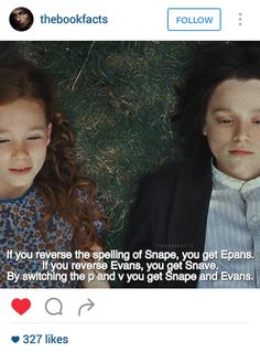 Snape and Lilly