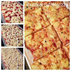 Rezept: Bratkartoffelpizza