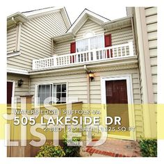 JUST LISTED in Suffolk VA. Well maintained townhome in a Harbor View condominium community. Easy maintenance free living and be near shopping and restaurants.  Parks, pools and trails along the waterfront are some great amenities you have come to expect. Call me for a private showing - 757.572.3157. #realtor #suffolkva #harborview #condo #forsale #757 #localrealtors - posted by Bobby LeBlanc https://www.instagram.com/mmgrafx1 - See more Real Estate photos from Local Realtors at…
