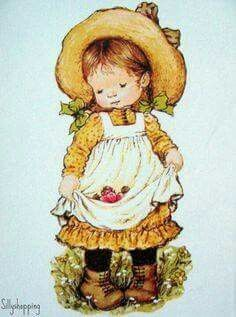 Sarah Key, Sarah Kay Imagenes, Image Deco, Vintage Drawing, Holly Hobbie, Australian Artists, Illustrations, Cute Illustration, Vintage Postcards