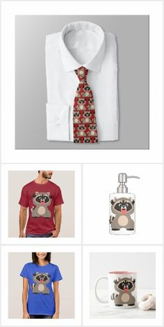 Cute Cheeky Cartoon Raccoon Sticking Out Tongue Collection of Merchandise by Cheerful Madness!! at Zazzle #cheeky #kawaii #cheerfulmadness #cute #cartoon #raccoon #animation #tshirts #comics #zazzle #gifts #customizable #raccoons #cartoonanimals #animals #geek #nerd #childlike #collection #merchandise #apparel
