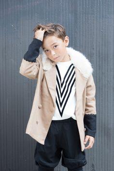 Fashionkins // New York State of Mind (Babiekins) Swag Style, Style Outfits, Fashion Outfits, Style Hipster, Boy Poses, Kids Fashion Boy, Duchess Of Cambridge, Kids Boys, Fall Winter