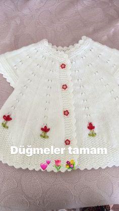 strickende Ideen : Laden Sie Quick Image im Internet herunter Baby Knitting Patterns, Baby Patterns, Knit Baby Dress, Baby Cardigan, Easy Knitting, Knitting Socks, Quick Image, Quick Knits, Baby Sweaters