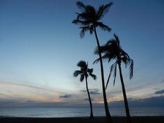 Maili beach park, Oahu, Hawaii