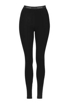 Topshop Branded Leggings