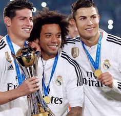 Real Madrid James Marcelo Ronaldo