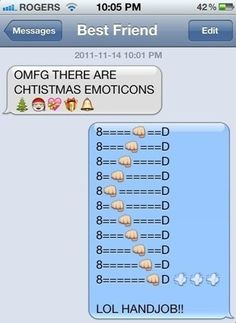 Best Use Of IPhone Emoticons