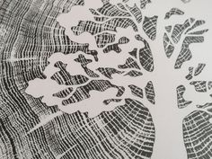 Oak on Oak Print on Paper Dimensions, Oak Tree, Wood Print, Marketing And Advertising, A4, Hand Carved, Carving, Etsy Shop, Prints