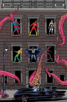 3 more Allred variants in Batman '66 style previewed