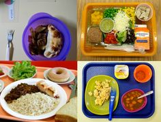 A Taste of Different School Lunches Around the World. The AP sent photographers to schools in 13 different countries to check out what students ate for lunch. The results, not surprisingly, reveal a wide spectrum of foods and manners of serving them.