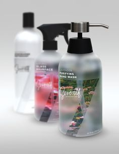Seventh Generation by Jeff Stein, via Behance / absolutely beautiful rebrand for echo friendly products