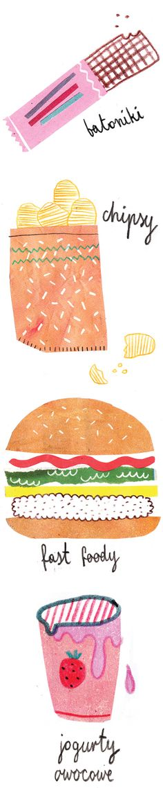 artist/illustrator agata krolak ( snacks <3 )
