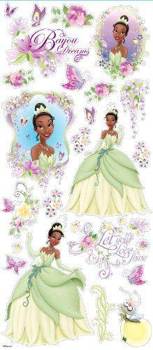 Disney Large Flat Stickers Princess Tiana >>> ** AMAZON BEST BUY -affiliate link**