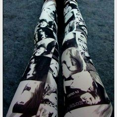 Fashion mag leggings.     For ordering or any inquiries, please email me at dieprettyclothingco@gmail.com  To view our full selection of men's, women's and children's attire and accessories please add us on Facebook at www.facebook.com/DiePrettyYEG