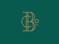 The Beach Company logo design monogram