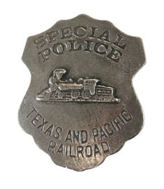 Special Police Officer, Historical Emporium, Railroad Companies, Old West, Badge, How To Become, It Cast, Badges