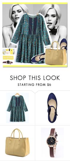 """""""Summer Style"""" by arohii ❤ liked on Polyvore featuring Nine West, Summer, polyvorefashion and rosegal"""