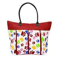 Buy this cute tote for just $8.00 and fund 14 bowls of food for animals in a shelter.