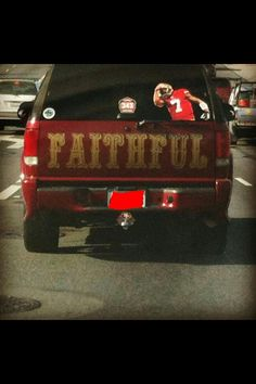 To the owner of this truck Sir/ma'am you are an absolute inspiration to me Go Niners!!!