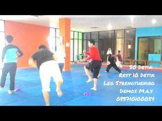 Taekwondo phisical training (latihan fisik taekwondo) - YouTube