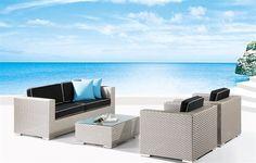 Wohnzimmer, Garten, Billige Gartenmöbel, Lounge Möbel Für Draußen,  Rattansofa, Sitzgruppe