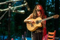 "2014 Estas Tonne @ ""Everness Festival"", Hungary. Photo by Geri Dagys. #estastonne #festival #performance #guitar #music #gypsy #flamenco #latin #everness #goa #meditation #atmospheric"