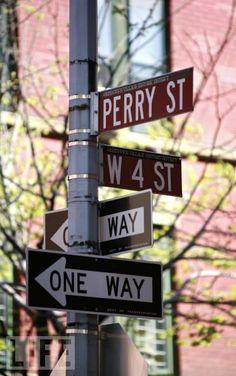 Carrie Bradshaw's West Village Apt. location, NYC